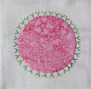 rosa grün